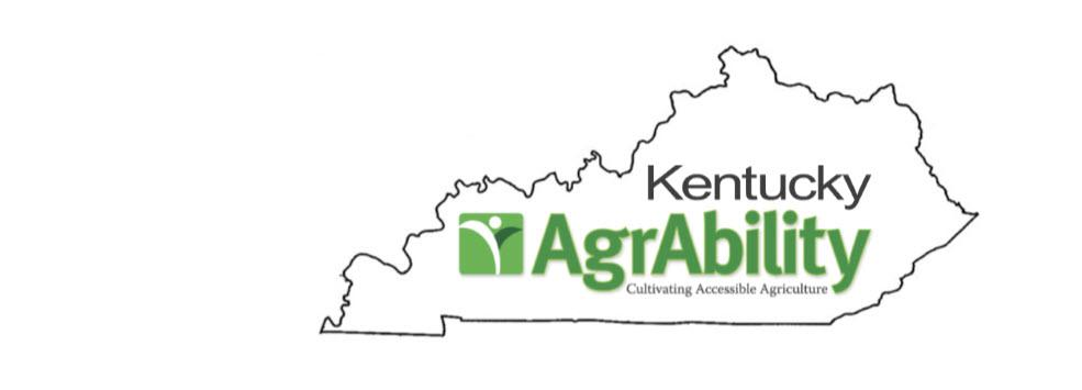 KY AgrAbility Logo with State