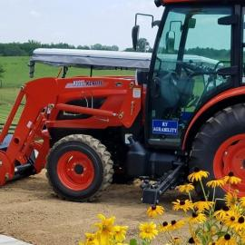Kentucky AgrAbility's Modified Demonstration Tractor