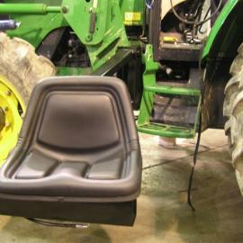 Modified John Deere with Chair Lift